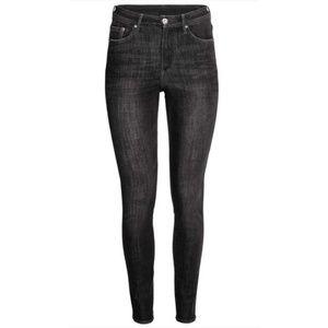 H&M Washed Black 360° Super Stretch Skinny Jeans